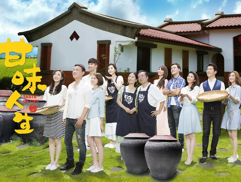 Taste of Life Poster, 百味人生 2015 Chinese TV drama series
