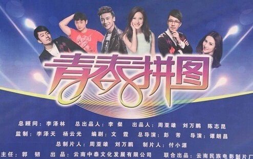Youth Puzzle Poster, 2015 chinese tv drama series