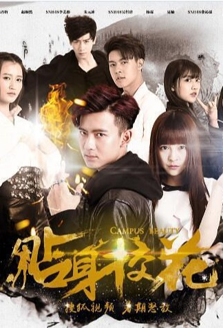 Campus Beauty Poster, 贴身校花 2016 Chinese TV drama series