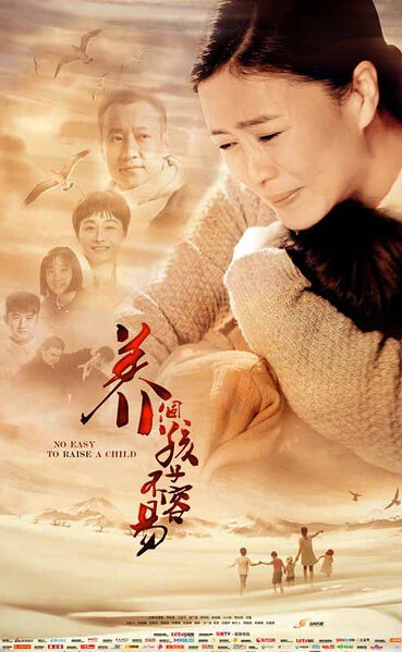 No Easy to Raise a Child Poster, 2016 Chinese TV drama series