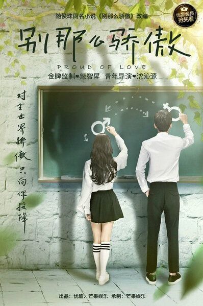 Proud of Love Poster, 2016 Chinese TV drama series