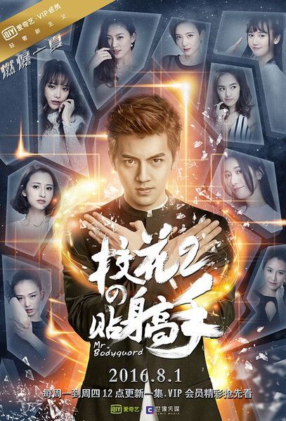 School Beauty's Personal Bodyguard 2 Poster, 2016 Chinese TV drama series