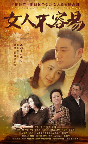 Woman Is Not Easy Poster, 2016 Chinese TV drama series