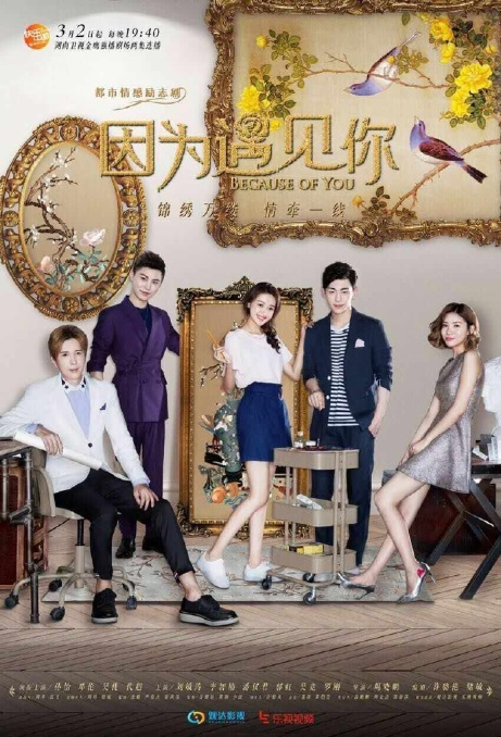 Because of You Poster, 2017 Chinese TV drama series