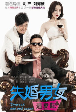 Divorced Men and Women Poster, 2017 Chinese TV drama series