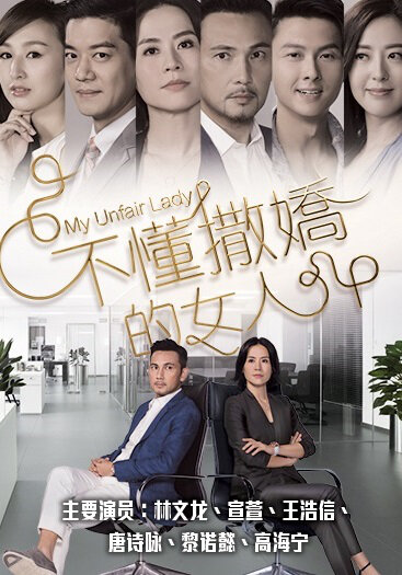 My Unfair Lady Poster, 2016 Hong Kong TV drama series