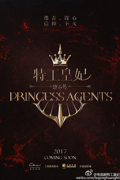 Princess Agents Poster, 2017 Chinese TV drama series