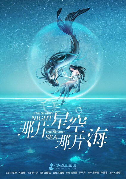 The Starry Night, The Starry Sea Poster, 2017 Chinese TV drama series