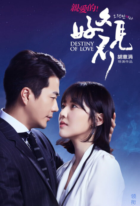 Destiny of Love Poster, 亲爱的!好久不见 2018 Chinese TV drama series