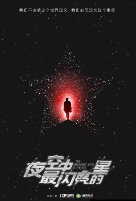 The Brightest Star in the Sky Poster, 夜空中最闪亮的星 2018 Chinese TV drama series