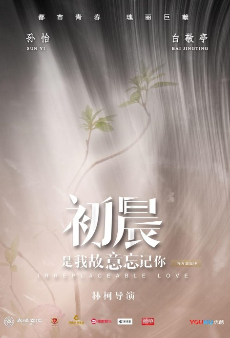 Irreplaceable Love Poster, 初晨,是我故意忘记你  2019 Chinese TV drama series