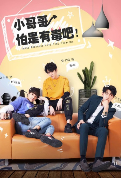 These Brothers Have Some Problems Poster, 小哥哥怕是有毒吧 2019 Chinese TV drama series