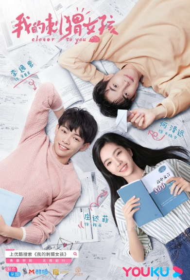 Closer to You Poster, 我的刺猬女孩 2020 Chinese TV drama series
