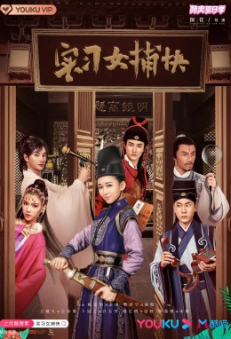 Female Detective Trainee Poster, 实习女捕快 2020 Chinese TV drama series