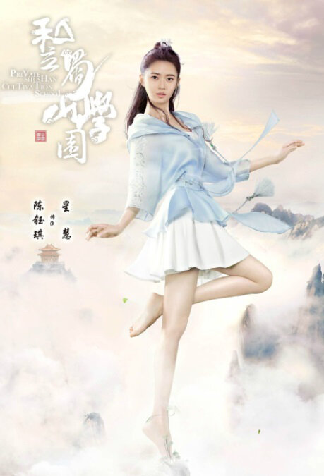 Private Shushan Cultivation School Poster, 私立蜀山学园 2020 Chinese TV drama series