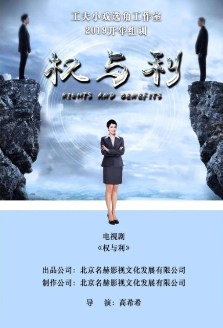 Rights and Benefits Poster, 权与利 2020 Chinese TV drama series